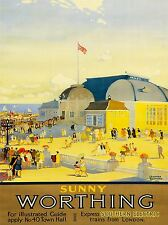 Travel TOURISM Worthing Sussex Angleterre pavillon théâtre mer soleil UK lv4331