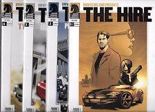 BMWFILMS.COM PRESENTS THE HIRE #1-#4 SET (NM-) DARK HORSE COMICS