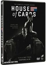 Dvd HOUSE OF CARDS - Stagione 02 - (Box 4 Dischi) .....NUOVO