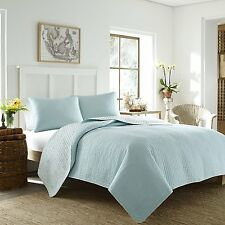 TOMMY BAHAMA Melia Harbour Blue  Full/Queen Quilt
