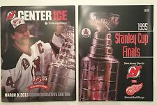 New Jersey NJ Devils 1995 Stanley Cup Champions 20th Anniversary Program 3/8/15