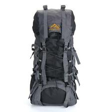 Large Hiking Mountaineering Camping Hunting Backpack Outdoor Travel Pack Bag 55L