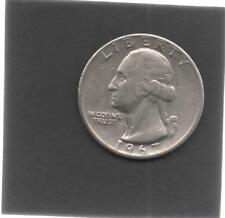 Moneta Stati Uniti United States Quarter Dollar 25 Cent 1967 Washington STU172