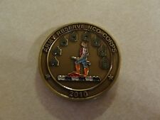 CHALLENGE COIN ARMY RESERVE NCO CORPS 2010 WARRIOR CITIZEN US ARMY RESERVE