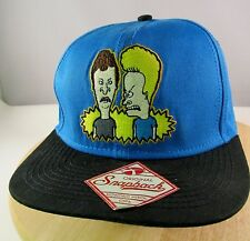 "MTV Beavis & Butthead ""UH...HEY BABY""  Mens Snap Back Baseball Hat/Cap"