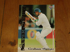 CRICKET - GRAHAM THORPE - *RARE-  FUTERA SUPER SERIES CARD - 1994 MINT