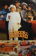 The Dukes Of Hazzard 23x35 Group Collage TV Series Poster 1998