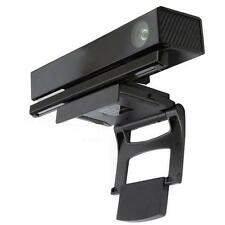 TV Clip Mount Stand Holder for Xbox 360 One Kinect Sensor Game Black