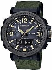 Casio Men's Protrek Triple Sensor Solar Watch PRG600YB-3