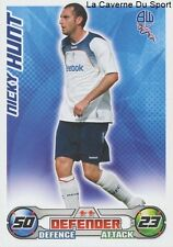 NICKY HUNT # ENGLAND BOLTON WANDERERS CARD PREMIER LEAGUE 2009 TOPPS