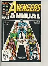 AVENGERS ANNUAL #12 VF- WHITE PAGES COPPER AGE COMIC 1988 MARVEL COMICS