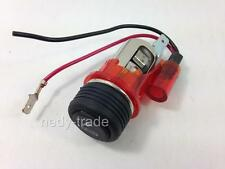 12V Cigarette Lighter Socket RED Illuminated VW Passat Golf MK2 MK3 MK4