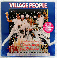 CAN'T STOP THE MUSIC LP OST CASABLANCA Rec SEALED 80 Disco VILLAGE PEOPLE