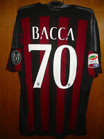 CARLOS BACCA MATCH WORN ISSUE HOME SHIRT 2015/16 AC MILAN SERIE A TIM VERSION