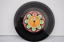"Vintage 1970 BARBIE Vinyl Record MATTEL  NASHVILLE 7"" 45 RPM"