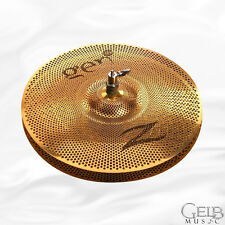 """Zildjian 14"""" Gen16 Hi Hat Cymbals in Buffed Bronze Finish - G1614HP"""