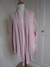 Tanya Sarne (GHOST) for John Lewis Blush Pink Wrap Top - Size S.