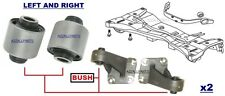 FOR MITSUBISHI OUTLANDER 2.4 03 04 05 REAR DIFFERENTIAL DIFF MOUNT ARM BUSH SET