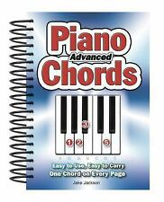 Advanced Piano Chords: Easy to Use, Easy to Carry, One Chord on Every Page by J