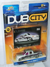 Jada Dub City - FORD F-150 PICKUP - silver/graphics - 1:64 #055