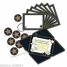 8 prix nuit film hollywood star party invitations et enveloppes & joints