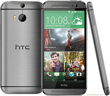 "HTC One M8 débloqué 5"" 4G Quad-core Dual 4MP Smartphone 32GB Gunmetal Gris"