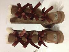 UGG Australia Women's Bailey Bow Tall Chestnut Size US 8 Boots Style # 1007308