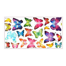 Butterflies Childrens Wall Stickers Mural Art Decor 21 Piece ED