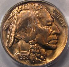 1938-D Buffalo Nickel.  PCGS MS-66.  Beautiful Gold Toning on Both Sides. MS++