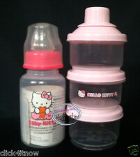 Sanrio Hello Kitty Baby BOTTLE 120ml Milk juice Container formula bottles babies
