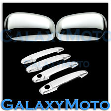 07-11 Toyota Yaris Triple Chrome Mirror+4 Door Handle with PSG Keyhole Cover