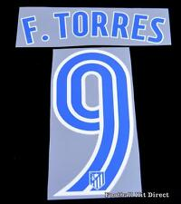Atletico Madrid F.torres 9 Football Shirt Name/Number Set Home 2016/17