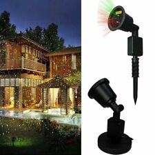 Christmas Laser Light Waterproof Red & Green Laser Light - Outdoor 3000 Sq Ft.
