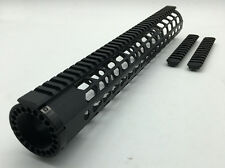 15'' LR308 Keymod Picatinny Rail Mount Free Float Handguard +Rail Sections