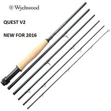 WYCHWOOD QUEST V2 8' 6'' #4 - 6 PCE TRAVEL FLY ROD ** New For 2016 **A0542**