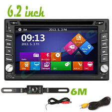 "6.2"" Touch Screen 2Din Car DVD Stereo Player GPS Navigation Radio+MAP+Bluetooth"