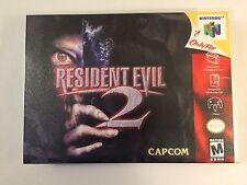 Resident Evil 2 - Nintendo 64 - Replacement Case - No Game