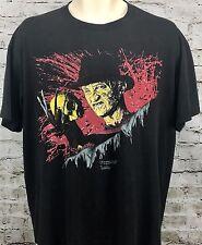 Vtg Nightmare on Elm Street 3 T Shirt XL Freddy Krueger Dream Warriors 1987 80's