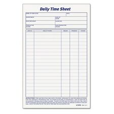 TOPS Daily Timesheet Form - 30041