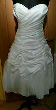 Kelsey rose wedding/bridesmaid/evening dress size 8  BNWT ivory tea short length