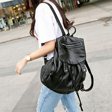Women's Pu Leather Backpack Travel Handbag Rucksack Shoulder School Bags