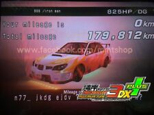 "Wangan Maximum Tune 3DX+ ""825hp + LvL63 DressUp 9999 stars Subaru GDBF card"