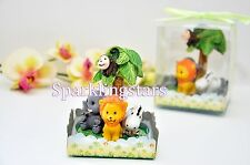 12pcs Baby Shower Party Favors Decoration Baby Jungle Safari Boy Girl Birthday