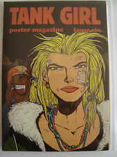 Tank Girl Poster Magazine Issue Number 6 Signed by Alan Martin - Ashley Wood art