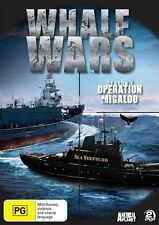 Whale Wars - Operation Migaloo : Season 1 (DVD, 2009, 2-Disc Set) *NEW & SEALED