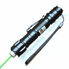 Super Green Laser Pointer Pen/ Clip Visible Beam Mark Direct 5 Mile power 1mw