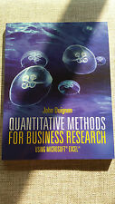 Quantitative Methods for Business Research | John Duignan | Cengage Learning NEW