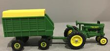 1/64 John Deere Unstyled Model A Tractor Toy & Hay agon by Ertl