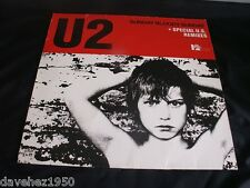 "U2. SUNDAY BLOODY SUNDAY (+Special U.S. Remixes). German 3 track 12"". 600 820."
