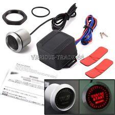 Red LED Light Keyless Engine Ignition Start/ Stop Button Starter Power Switch